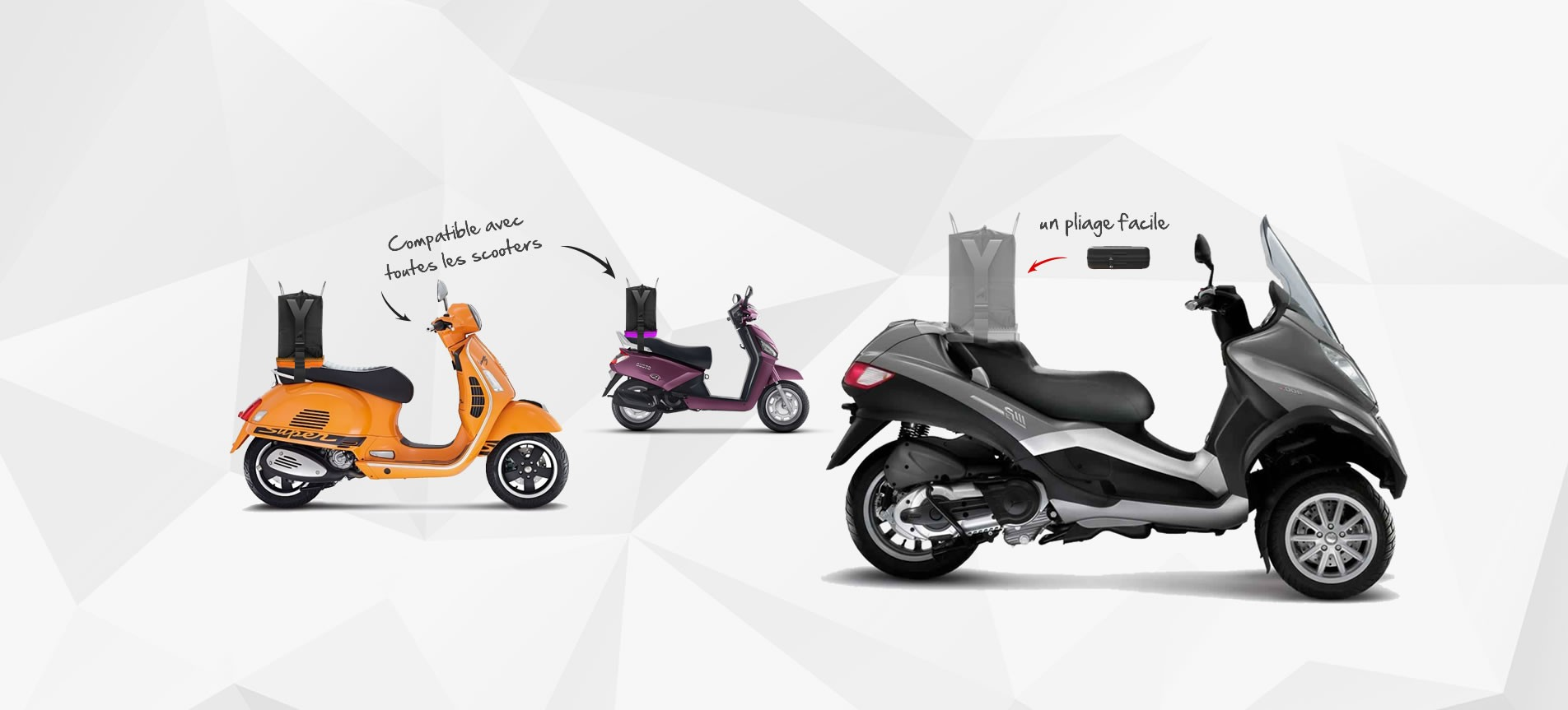 Softcase scooters